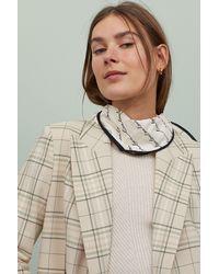 H&M Straight-cut Jacket - Natural