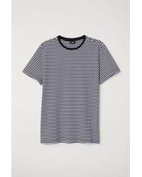 H&M - Striped T-shirt - Lyst