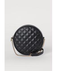 H&M Quilted Shoulder Bag - Black