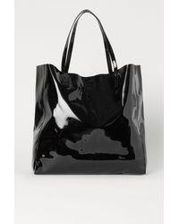 H&M Large Shopper - Black