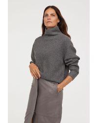 H&M - Cashmere-blend Turtleneck - Lyst