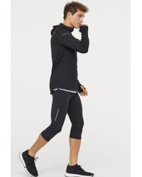 7ee64aec9e414 Lyst - H&M Running Tights in Black for Men