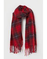 H&M Großer Schal - Rot