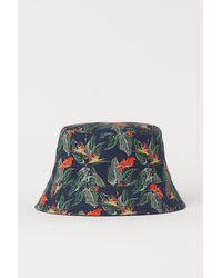 H&M Reversible Bucket Hat - Blue