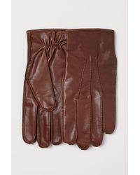H&M - Gants en cuir - Lyst