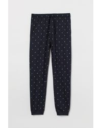 H&M Pyjamabroek - Blauw