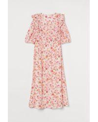 H&M - Lyocell-blend Dress - Lyst