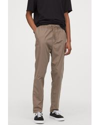 H&M Cotton Chinos - Natural