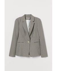 H&M Taillierter Blazer - Natur