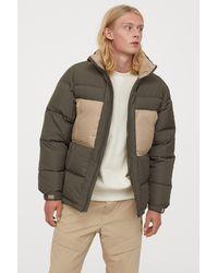 H&M Puffer Jacket - Green