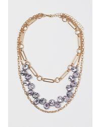 H&M 3-strand Necklace - Metallic