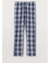 H&M Pantalon de pyjama - Bleu