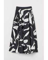 H&M Circular Skirt - Black