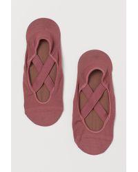 H&M Anti-slip Yoga Socks - Pink