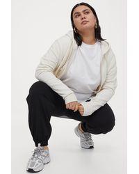 H&M + Sweatpants - Black
