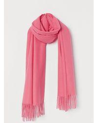 H&M Weicher Schal - Pink