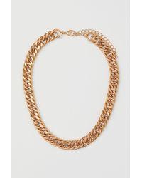 H&M Chunky Halskette - Mehrfarbig