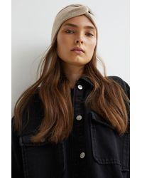 H&M Knit Headband - Natural