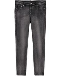 H&M - H & M+ Skinny Regular Jeans - Lyst