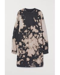 H&M Sweatshirt Dress - Black