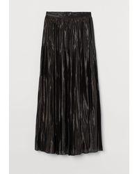 H&M Pleated Skirt - Black