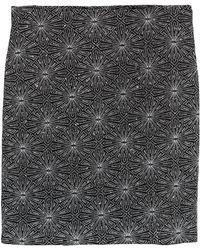 H&M Glittery Skirt - Metallic