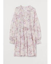 H&M MAMA Ausgestelltes Kleid - Natur