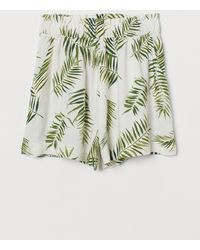 H&M Wide Shorts - White