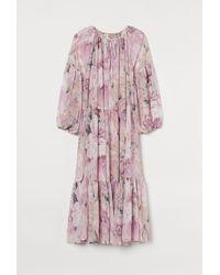 H&M H & M+ Chiffon Dress - Pink