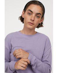 H&M Sweatshirt - Purple