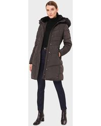 Hobbs Lettie Puffer Jacket - Grey
