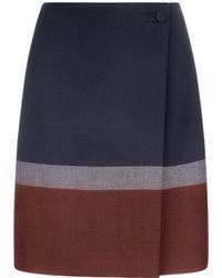 Hobbs - Simone Wrap Skirt - Lyst