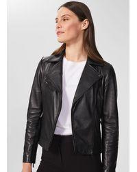 Hobbs Dakota Leather Jacket - Black