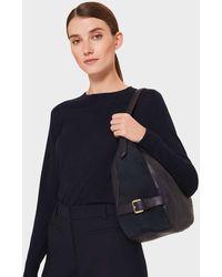 Hobbs Cleveland Leather Shoulder Bag - Blue