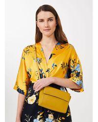 Hobbs Soho Leather Corssbody Bag - Yellow