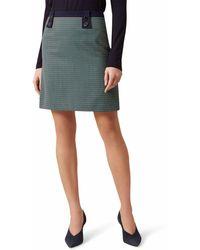 Hobbs Farrah Wool Blend Skirt - Multicolour