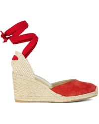Hobbs Trina Espadrille - Orange