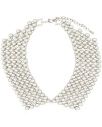 Hobbs - Penny Pearl Collar - Lyst