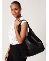 Hobbs Lula Leather Bag - Black