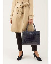 Hobbs Oxford Tote Bag - Blue
