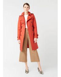 Hobbs Saskia Trench Coat - Multicolour