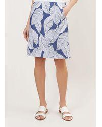Hobbs Loretta Skirt - Blue