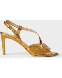 Hobbs Clarissa Stiletto Sandals - Metallic