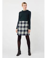 Hobbs Elea Wool Mini Skirt - Multicolour