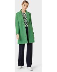 Hobbs Camellia Coat - Green