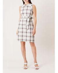 Hobbs - Amalfi Linen Blend Dress - Lyst