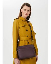 Hobbs Kimberwick Leather Cross Body Bag - Multicolour