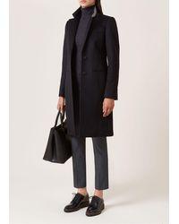 Hobbs Tilda Wool Coat - Black