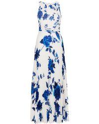 Hobbs - Talia Maxi Dress - Lyst