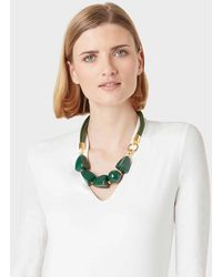 Hobbs Olive Necklace - Green